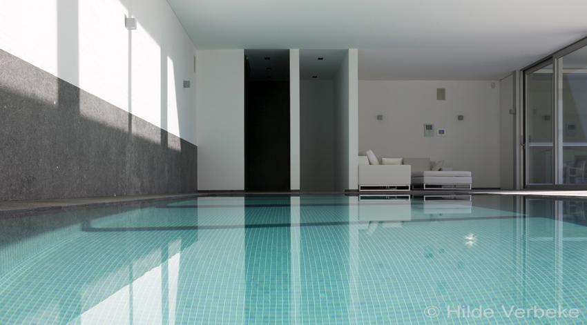 Binnenzwembad priv zwembad zwembad overloopzwembad mozaiek zwembaden betonnen zwembaden - Witte pool liner ...