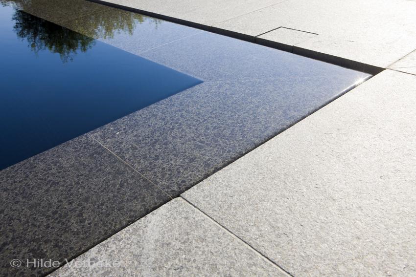 Buiten zwembad zwembad mozaiek zwembad betonnen zwembad privé