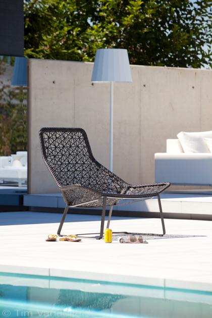 Exclusief design tuinmeubilair outdoor design furniture in tuin met buitenzwembad de mooiste - Tuin meubilair ...