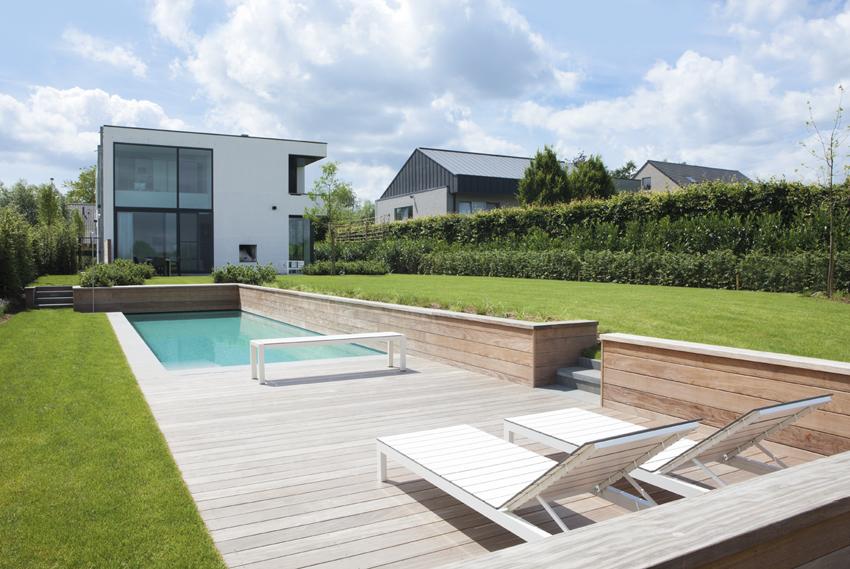 Zwemkanaal monoblock zwembad aanleggen de mooiste for Monoblock zwembad