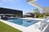 Prachtig inox buitenzwembad met luxe poolhouse voorzien van wellness, DWJ concept pools