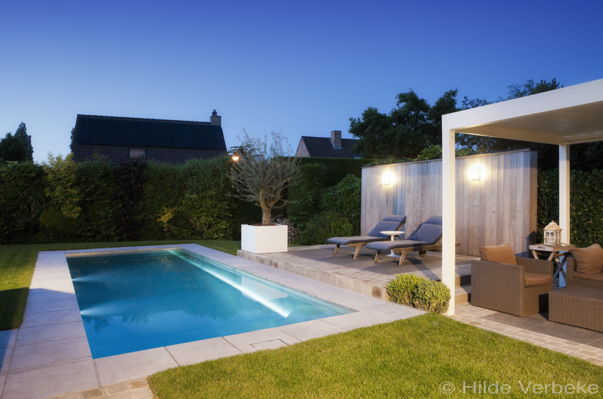 Inox zwembad aanleggen design zwembad in uw tuin - Tuin met zwembad design ...