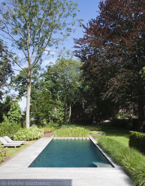 Biologisch zwembad met terras in padoek bij authentieke woning de mooiste zwembaden - Verwijderbare terras zwembad ...