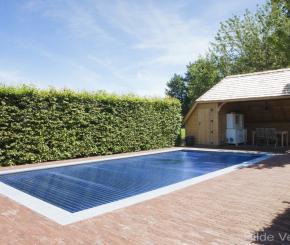 Inox buitenzwembad aanleggen, prijs inox zwembad
