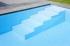 hoektrap zwembad polypropyleen, Ideal Pool, zwembadbouwer Sint-Niklaas