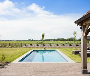 Jomarco, zwembadbouwer uit Oost-Vlaanderen, Epoxy acrylaat buitenzwembad