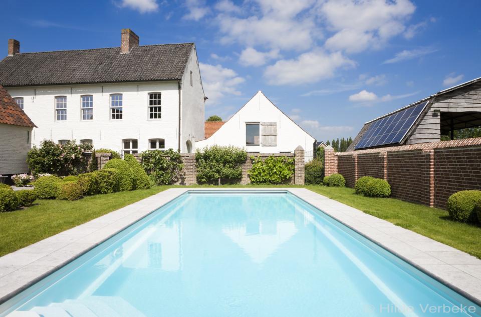 monoblok zwembad starline monoblok zwembad badend in landelijke sfeer de