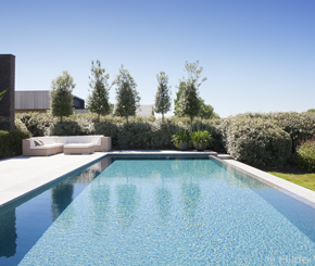 Infinity pool, zwembadbouwer Bob Monteyne West-Vlaanderen