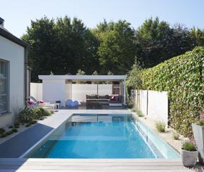 inox zwembad aanleggen, Nouv'eau zwembadbouwer Oost-Vlaanderen