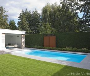 Starline Monoblock zwembad aangelegd door Becaus Zwembaden