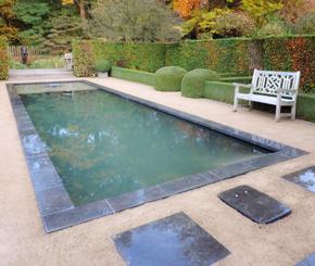 strakke zwemvijver, Geert Dhaenens tuinen