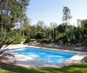 skimmer zwembad met naadloze pvc coating, Bob Monteyne zwembaden