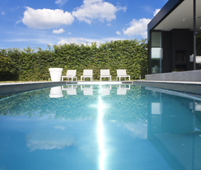 inox zwembad aanleggen, Nouv'eau