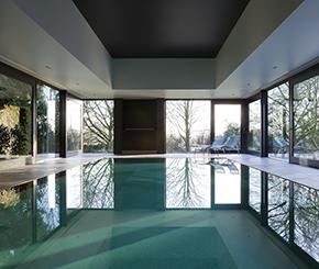 luxe mozaïek zwembad aanleggen, West-Pool