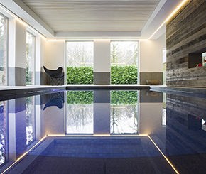 binnenzwembad op beperkte ruimte, West-Pool