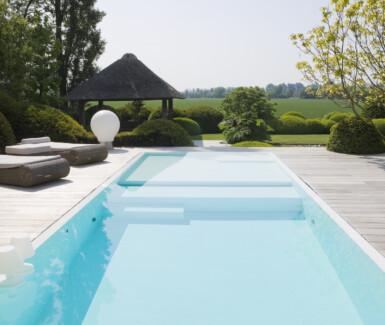 Foud'eau exclusieve zwembaden, buitenzwembaden
