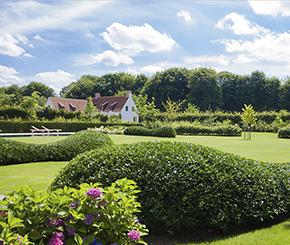 landelijke tuin aangelegd door Biopool