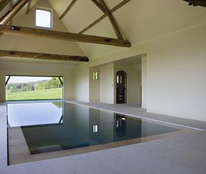 binnenzwembad, Bob Monteyne, luxe zwembad, Bisazza mozaïek