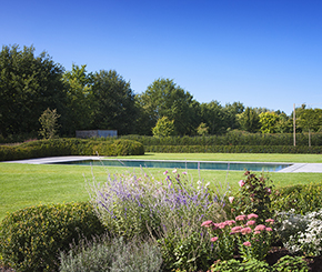 high end overloopzwembad voorzien van swimstream My Pool by Hugelier