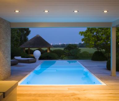 Fou d'eau, luxe polypropyleen overloop zwembad