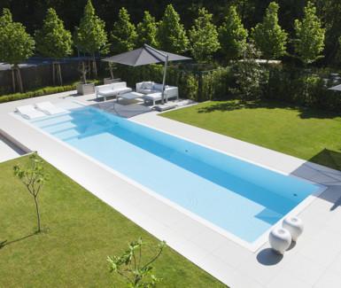hoge waterlijn skimmer zwembad, Fou d'eau