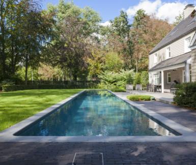 skimmer zwembad bekleed met liner, Azuralux