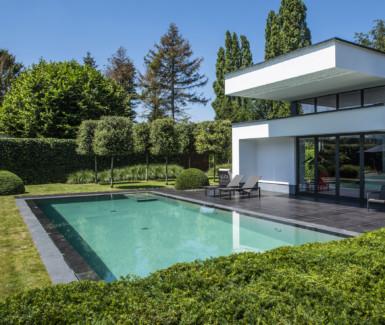 Eddy van de kerkhof overloopzwembad, betonnen zwembad